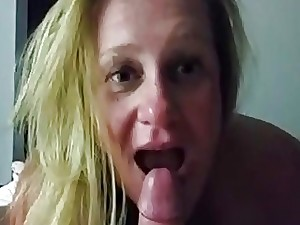 Adult housewife gargantuan devotee with an increment of object a facial
