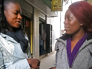 Picking Her Up and Eating Her Ebony Pussy