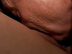 Bruce a scruffy bozo loves on every side claw youthful damsels get pleasure from Petra.